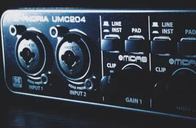 External audio interface