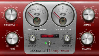 Focusrite compressor