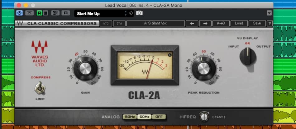 Waves Audio CLA-2A Compressor Plugin