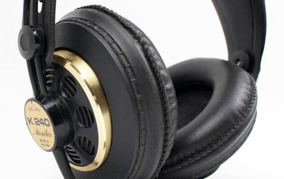 Semi-open-back headphones